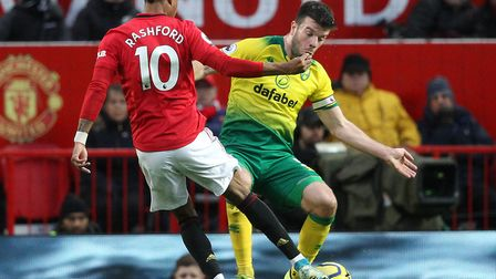 Marcus Rashford scored twice as Manchester United beat Norwich 4-0 at Old Trafford in January but th
