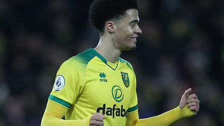 Jamal Lewis was the match-winner for Norwich against Leicester and has earned an award nomination fo