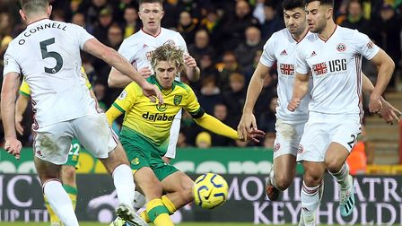 Todd Cantwell almost rescued a point for Norwich City in the corresponding fixture this season but a
