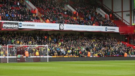 City supporters were reflective after a 1-0 defeat to Sheffield United. Picture: Paul Chesterton/Foc