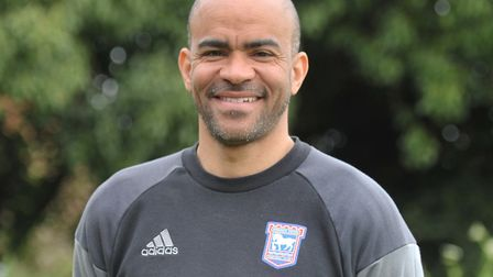 Kieron Dyer is an academy coach at Ipswich Photo: Sarah Lucy Brown