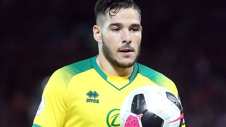 Emi Buendia starts against Leicester for Norwich this evening Picture: Paul Chesterton/Focus Images