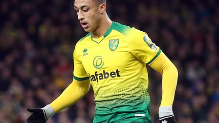 Adam Idah is firmly in Daniel Farke's thoughts for Norwich City's league and cup run in Picture: Pau