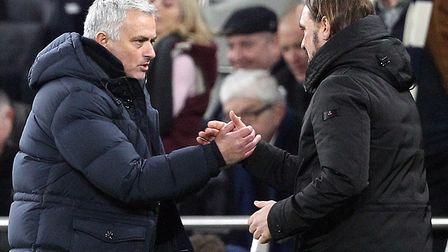 Tottenham boss Jose Mourinho bowed out of the FA Cup to Norwich City Picture: Paul Chesterton/Focus