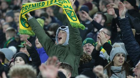 The Norwich City fans savoured the win over Leicester City but their Premier League relegation rival