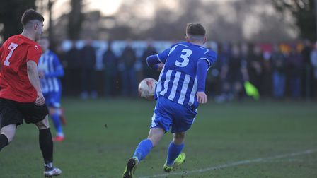 Wroxham were heavily beaten by AFC Bitton on Saturday. Picture: Tony Thrussell/Archant