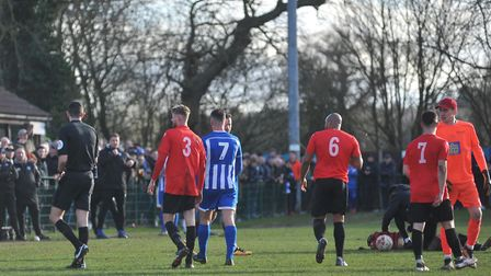 Liam Bishop scored all four goals for Bitton. Picture: Tony Thrussell/Archant