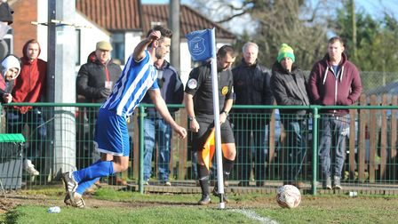 Simon Lappin is helping Wroxham's young contingent of players. Picture: Tony Thrussell/Archant