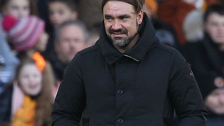 Daniel Farke is relishing a big FA Cup occasion at Tottenham Picture: Paul Chesterton/Focus Images L