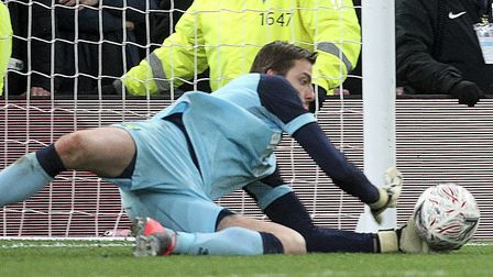 Tim Krul was Norwich City's spot kick hero at Tottenham in the FA Cup Picture: Paul Chesterton/Focus