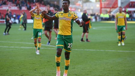 Tettey is as influential as ever for the Canaries. Picture: Paul Chesterton/Focus Images Ltd