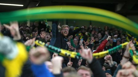 Travelling City fans in full voice during a famous FA Cup night Picture: Paul Chesterton/Focus Image
