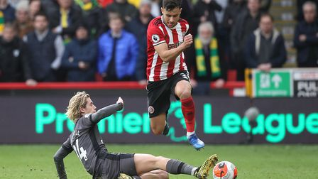 City's defeat to Sheffield United has seen the likelihood of a great escape diminish. Picture: Paul