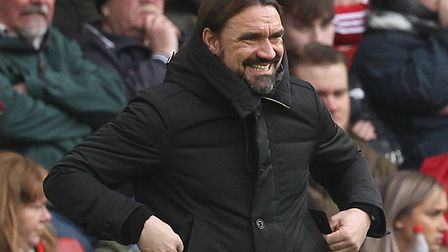 Norwich City head coach Daniel Farke unveiled a change of approach at Sheffield United Picture: Paul