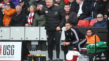 Chris Wilder got the better of Norwich City tactically. Picture: Paul Chesterton/Focus Images Ltd