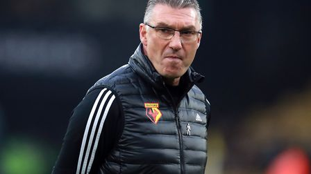 Pearson has completed the great escape with Leicester City, can he do it again with Watford? Picture