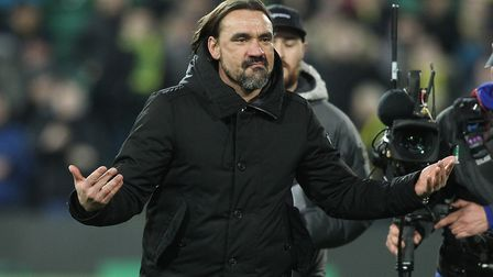 Daniel Farke is looking to complete a 'little miracle' by keeping City in the Premier League. Pictur
