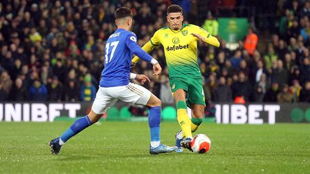 Ben Godfrey is hungry for FA Cup success with Norwich City. Picture: Paul Chesterton/Focus Images Lt