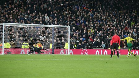 Cantwell's penalty was the first of his career. Picture: Paul Chesterton/Focus Images Ltd