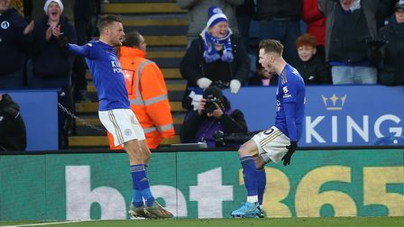 Jamie Vardy scored against City earlier in the season, but is currently going through a barren patch