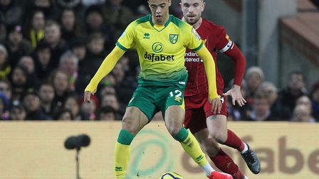 Jamal Lewis had to bide his time before getting back in the Norwich City line up Picture: Paul Chest