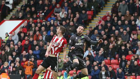 Josip Drmic came on at half-time for Norwich at Sheffield United Picture: Paul Chesterton/Focus Imag