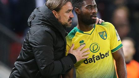 Daniel Farke has hailed the impact of Alex Tettey after the Norwich City midfielder signed a new one