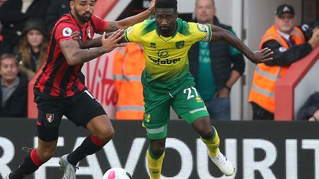 Alex Tettey has signed a new one-year contract with Norwich City Picture: Paul Chesterton/Focus Imag