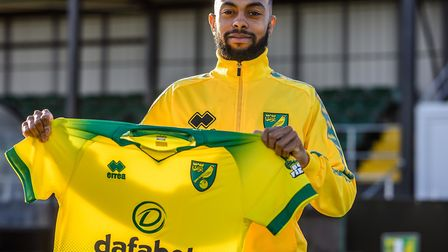January signing Melvin Sitti signed a contract until 2024 with the Canaries Picture: Norwich City FC