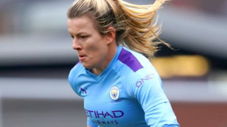 Lauren Hemp - thriving on the wing for Manchester City Picture: PA