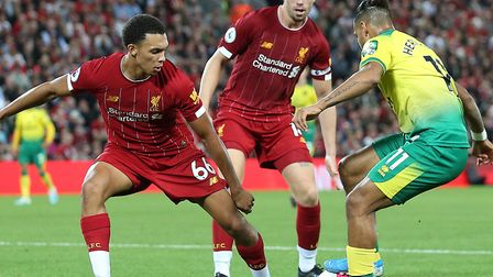 Trent Alexander-Arnold is a potent attacking weapon for Liverpool Picture: Paul Chesterton/Focus Ima