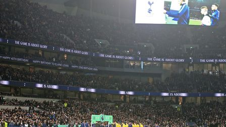 Norwich City were beaten 2-1 during their first trip to the Tottenham Hotspur Stadium last month Pic
