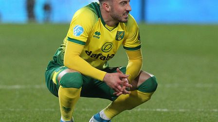 Josip Drmic made a late cameo in Norwich City's Premier League 1-0 defeat to Liverpool Picture: Paul