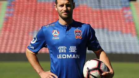 Wes Hoolahan is closing on a return to fitness Picture: Newcastle Jets