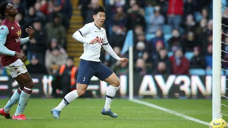 Heung-min Son scored a late winner for Spurs at Villa on Sunday Picture: Nick Potts/PA Wire