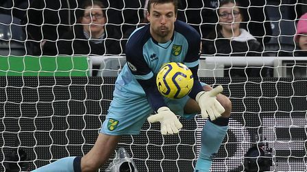 Tim Krul has only missed two of Norwich City's Premier League matches so far this season Picture: Pa