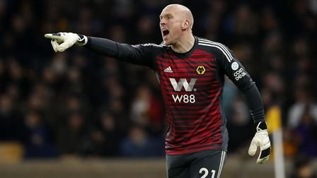 John Ruddy in action for Wolves. Picture: Martin Rickett/PA Images/PA Wire