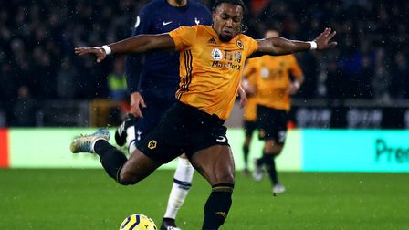 Speedy winger Adam Traore has impressed with four goals and seven assists for Wolves in the Premier