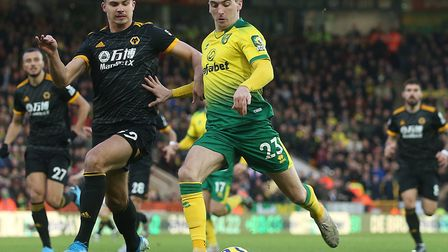 Norwichy City were beaten 2-1 by Wolves at Carrow Road in December Picture: Paul Chesterton/Focus Im