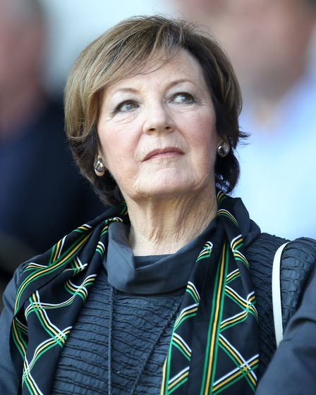 Should there be a statue of Delia Smith outside Carrow Road? Picture: PA