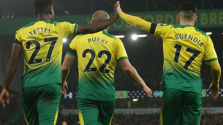 Alex Tettey has spoken in defence of young team-mate Emi Buendia as the Norwich City talent tries to