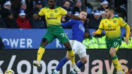 Alex Tettey and Emi Buendia will come up against former Canaries star James Maddison again when Leic