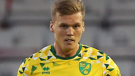 Norwich City defender Sean Raggett is on loan at League One side Portsmouth Picture: James Wilson/Fo