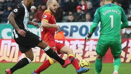 Teemu Pukki has struggled in front of goal for Norwich City since the turn of the year Picture: Paul