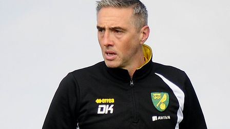 Dean Kiely was goalkeeper coach at Norwich City between February 2015 and July 2017 Picture: Archant