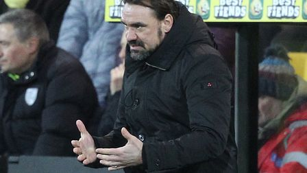 Daniel Farke believes Norwich City can hit the goal trail over the Premier League run in Picture: Pa