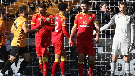 Norwich City were beaten 3-0 at Wolves on Sunday to remain seven points adrift of safety in the Prem