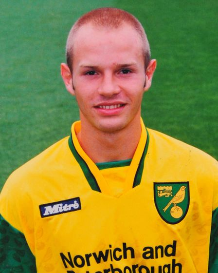 Danny Mills during his time with Norwich City Picture: Archant library