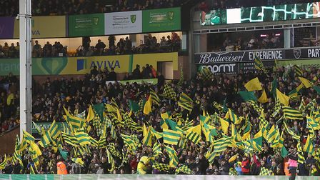 Carrow Road has been ranked as the second best stadium for spectators in the Premier League Picture: