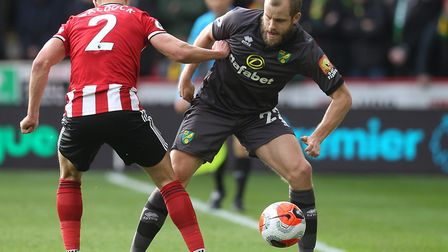 Teemu Pukki will get an enforced break after a heavy workload for club and country Picture: Paul Che